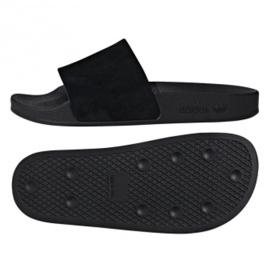 Adidas Originals Adilette tofflor W DA9017 svart