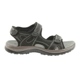 DK sandaler svart kardborrlampa EVA botten