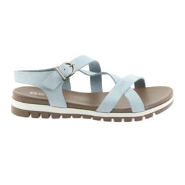 Big Star blå Bekväma sandaler