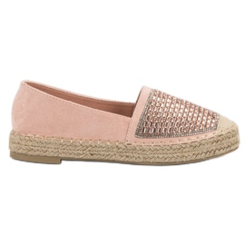 Espadrilles Med Vices Cement rosa