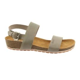 Big Star Kvinnors grå sandaler 274A014