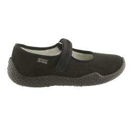 Svart Befado kvinnors skor pu - ung 197D002