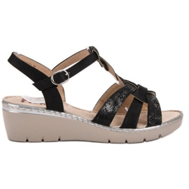 Kylie Lätta sandaler svart