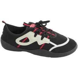 Strandskor Aqua-speed svart grå-röd 19A