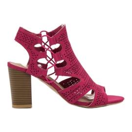 Goodin rosa Snygga Sandals Fuchsia