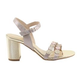Kvinnors skor silverfärgad Gamis 3658