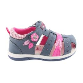 American Club American DR18 denim girls sandals