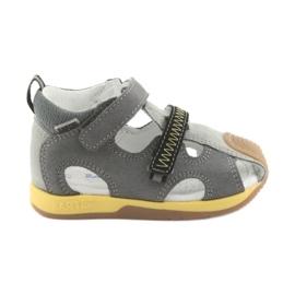 Sandaler pojkarnappar Bartek 81772 grå