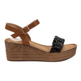 Seastar svart Lätta sandaler