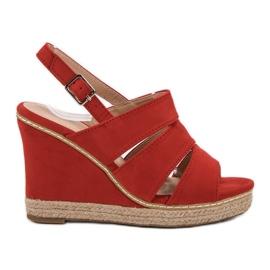 Primavera Röda Sandaler