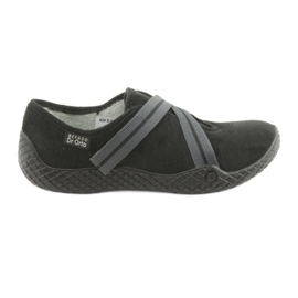 Svart Befado kvinnors skor pu - ung 434D014