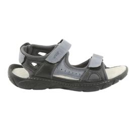 Naszbut Velcro läder sandaler 043
