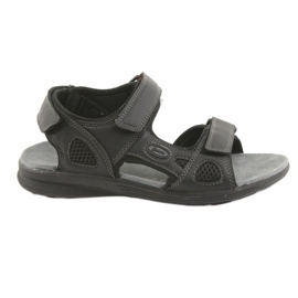 American Club svart American Youth Sports Sandals HL08 cz