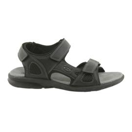 American Club American HL06 svart sport sandaler