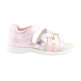 American Club GC26 pink girls sandaler