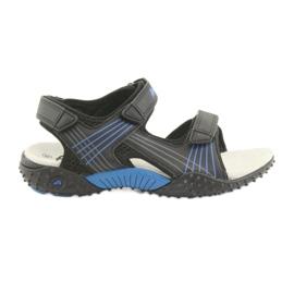 American Club HL15 boys sandaler svart