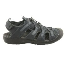 American Club marinblå American HL02 sport sandaler. Mörkblå