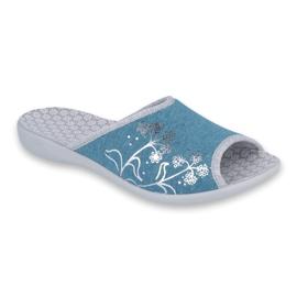 Blå Befado kvinnors skor pu 254D102