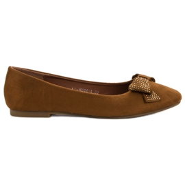 Best Shoes brun Camel Ballerinas