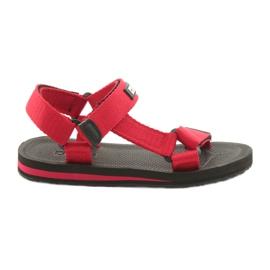 Röd Textil sandaler Big Star 274A285 RED
