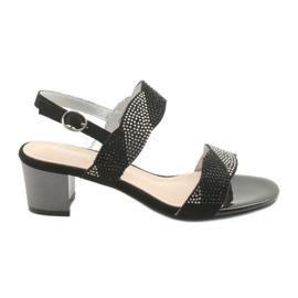 Sandaler på stolpen av Sergio Leone SK795 svart