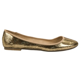SHELOVET gul Golden Ballerinas