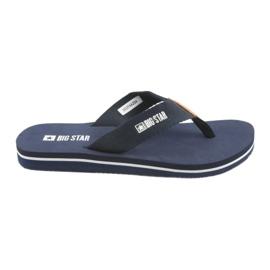 Big Star flip-flops marinblå