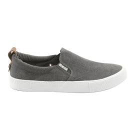 Grå Big Star 174162 slip-on sneakers