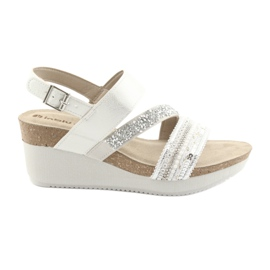 Sandals kil INBLU EN009 silver