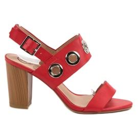 Kylie Röda höga klackar