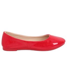 Röda kvinnors ballerina JX76P Röd