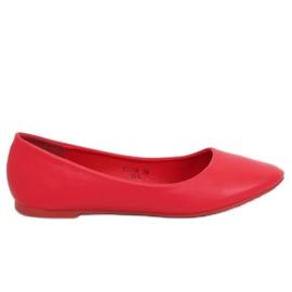 Kvinnors ballerinas röd CC108 Red