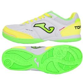 Inomhusskor Joma Top Flex 920 i TOPW.920.IN vit, grön, gul vit