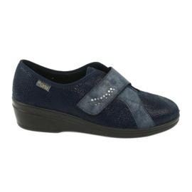 Blå Befado kvinnors skor pu 032D001