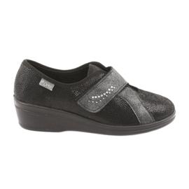 Svart Befado kvinnors skor pu 032D002