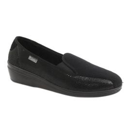 Svart Befado kvinnors skor pu 034D002