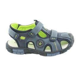 American Club Barnens sandaler med en amerikansk DR02 läderinsats
