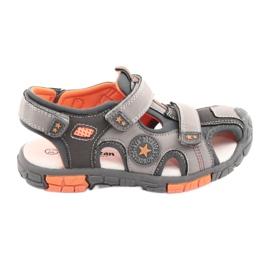 American Club Sandalka skor med en amerikansk DR02 läderinsats