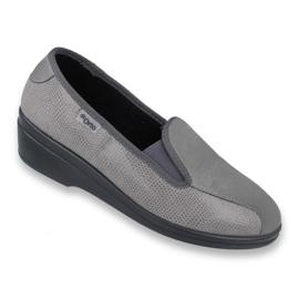 Grå Befado kvinnors skor pu 034D003