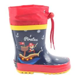 American Club Amerikanska barnens regnstövlar. Pirat