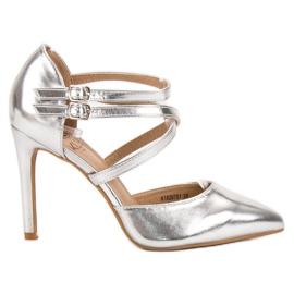 Kylie grå Glänsande modepinnar