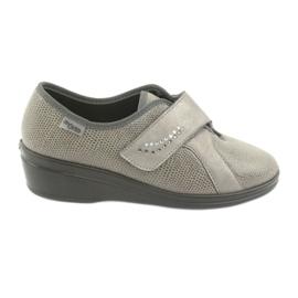 Befado kvinnors skor pu 032D003 grå