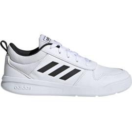Vit Adidas Tensaur K Jr. EF1085 skor