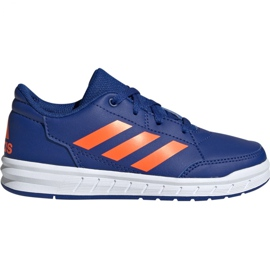 Blå Adidas AltaSport K Jr G27095 skor