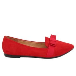 Ballerinas kvinnors röda 8F59 Red