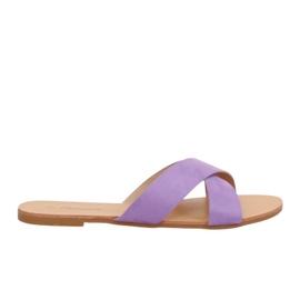 Kvinnors tofflor violett 930 Lila