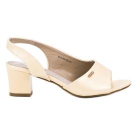 Goodin Eleganta Slip-on Sandaler gul
