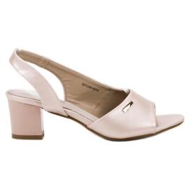 Goodin brun Eleganta Slip-on Sandaler