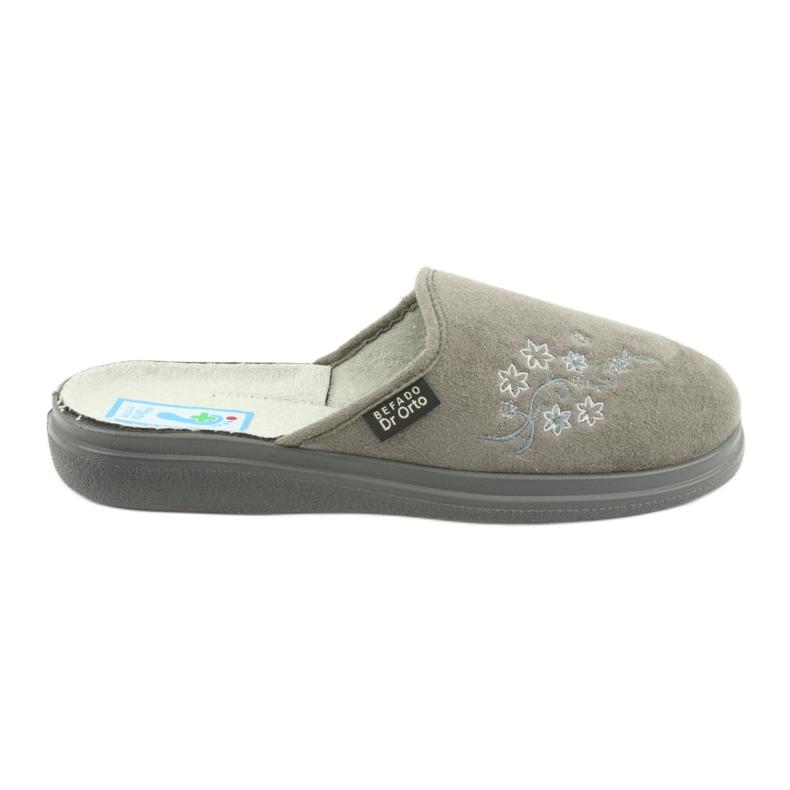 Grå Befado kvinnors skor pu 132D013