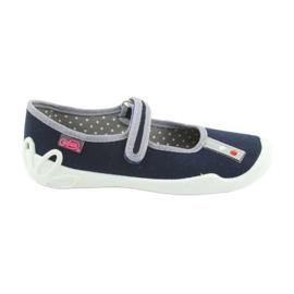 Befado marinblå sko 114Y317